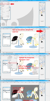 How to make an image transparent on gimp by SuirenHime