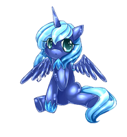 ANIMATED GIFT LUNA by AquaGalaxy