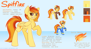 Spitfire Reference Sheet by spittfireart