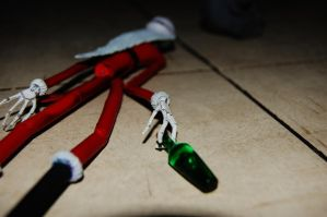 Sandy Claws Got Drunk by RegularRach