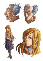 The Old Man and the Lady by lastbeach