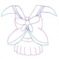 Angel Senshi Maternity Outline by DBCDude01