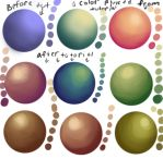 Color bending study by Angel-Nevaeh