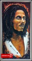Bob Marley Painting by JeremyWorst