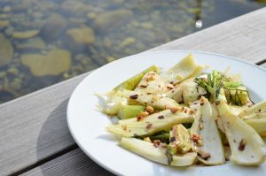 Summer-Fennel with walnuts by Lariposa