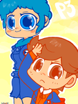 Fuuka And Ken by Child-Of-Neglect