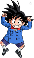Goten by Krizeii