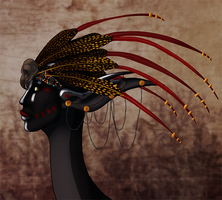 The compensation headdress by MisMantis