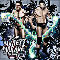 Barrett Barrage Evolution CyrdanArt by Cyrdanwwe