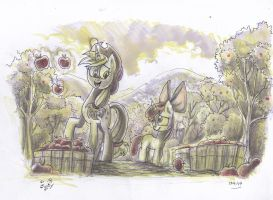 What IF.....Apple by Jowybean