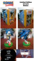 F4F Classic Sonic Statue by Fuzon-S