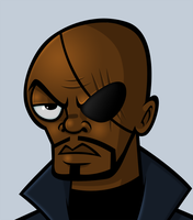 Nick Fury by payno0