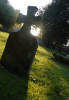 Grave Side Light by LouisTN