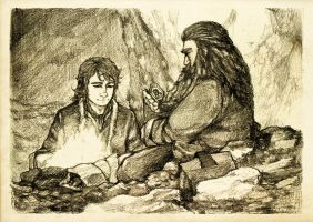 Discovering Mr Baggins - Gloin by Nazgullow