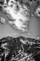 Clouds Over the Mountain by KickStart011