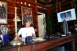 My Desk at HQ by spyed