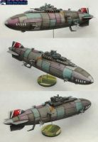 Crimson Skies Zeppelin Destroyer by Atropos907