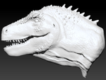 ZBrush T. rex WIP by STahami