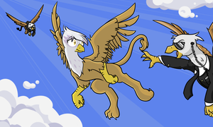Flown the Coop by Geomancing