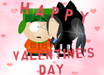 Happy Valentine's Day South Park by tdkpupgirl22