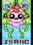 crying yourself to death (The Binding of Isaac) by highondopamine