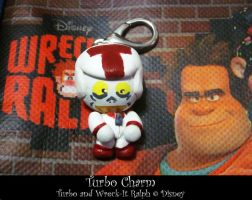 Wreck It Ralph - Turbo Charm (Commission) by Cryssy-miu