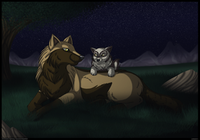 AT:Quiet night by Shadow-lightning