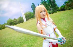Asuna - Crossing Field by KazuoFubuki
