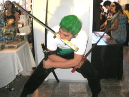 Roronoa Zoro by zoesaday