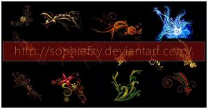 decorative pattern stock by Sophie-Y
