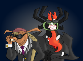 Villains in Black - Art Trade Verona7881 by sonicgirl313