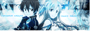 Sword Art Online Siggy by xXFallen-Em0-AngelXx