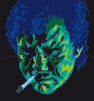 Bill Hicks by Rektozhan