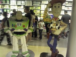 Buzz and Woody again. And Legos. by frightmare99