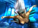 Mermaid Underwater by LordFreeza