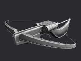 Automatic crossbow model by Kruku