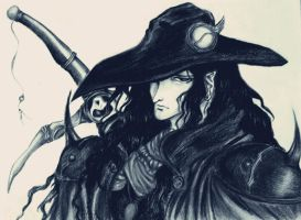 Vampire Hunter D by Viking-Dream