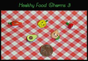 Healthy Food Charms 3 by YellerCrakka