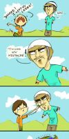 Happy Wheels - I don't care by ScribbleNetty