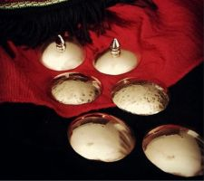 Polished Copper Pasties by SlingerMD
