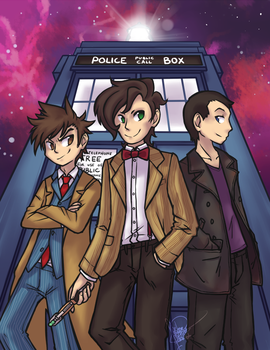 DW - All of Time and Space by ClefdeSoll