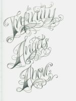 Some Lettering by 12KathyLees12