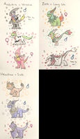 PKMNation:: Cats, Dragons, Snakes (Closed) by Dianamond