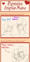 Rap Couples Meme: Rowan and Evan by ChocolateMilkLOL