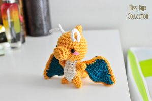 Dragonite pokemon by MissBajoCollection