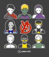 Young Avengers: Icons by Bluemutantfreak