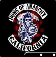 sons of anarchy ps3 console skin by BlazesCreations
