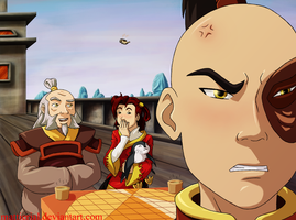 Avatar: Zuko's Plight by Mattierial