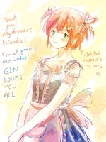 THANK YOU ALL MY FRIENDS FOR THE BEST WISHES! by Gin-Uzumaki