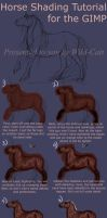 Horse Shading Tutorial V3 GIMP by Vizseryn